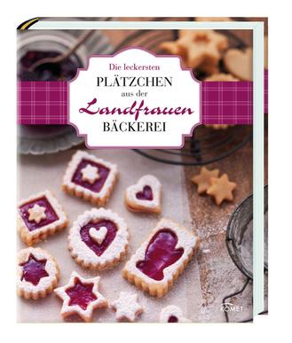 """Cover des Buches """"Die leckersten Plätzchen aus der Landfrauen-Bäckerei"""""""