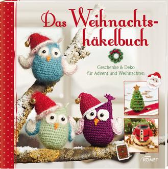 """Cover des Buches """"Das Weihnachtshäkelbuch"""""""