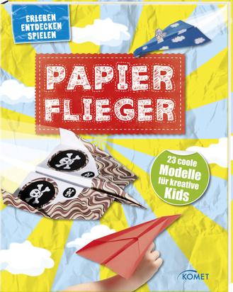 """Cover des Buches """"Papierflieger"""""""