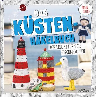 """Cover des Buches """"Das Küstenhäkelbuch"""""""