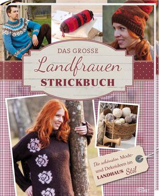 """Cover des Buches """"Das große Landfrauen-Strickbuch"""""""