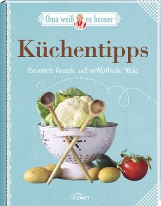 """Cover des Buches """"Oma weiß es besser: Küchentipps"""""""