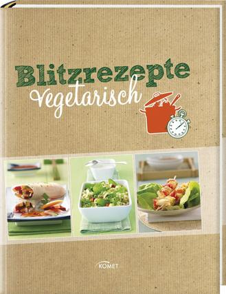 """Cover des Buches """"Blitzrezepte vegetarisch"""""""