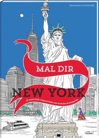 """Cover des Buches """"Mal dir New York"""""""