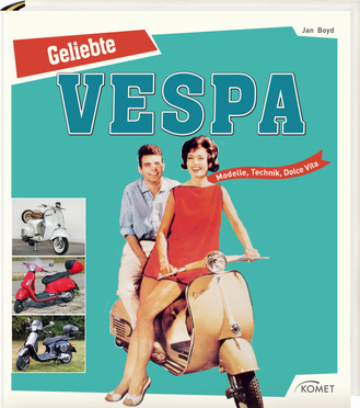 "Cover des Buches ""Geliebte Vespa"""
