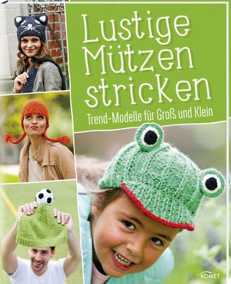 """Cover des Buches """"Lustige Mützen stricken"""""""