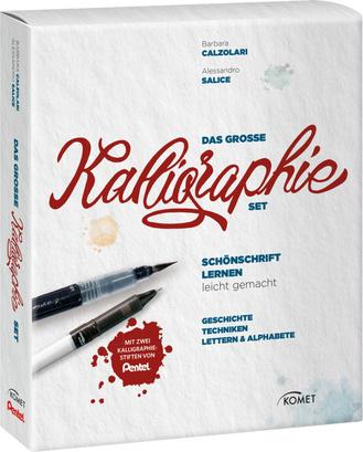 """Cover des Buches """"Das große Kalligraphie-Set"""""""