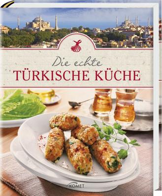 """Cover des Buches """"Die echte türkische Küche"""""""