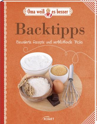"""Cover des Buches """"Oma weiß es besser: Backtipps"""""""