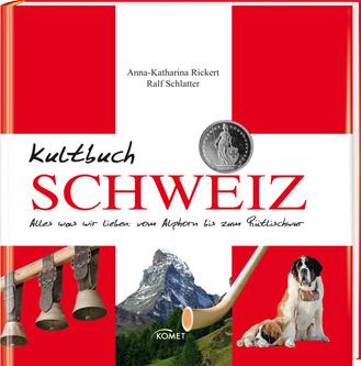 """Cover des Buches """"Kultbuch Schweiz"""""""