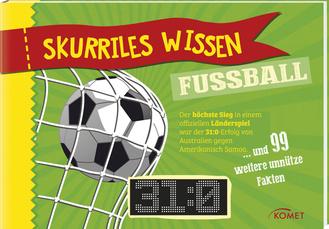 """Cover des Buches """"Skurriles Wissen: Fußball"""""""