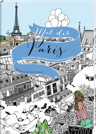 """Cover des Buches """"Mal dir Paris"""""""